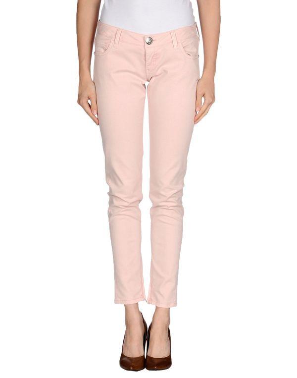 浅粉色 GUESS 裤装