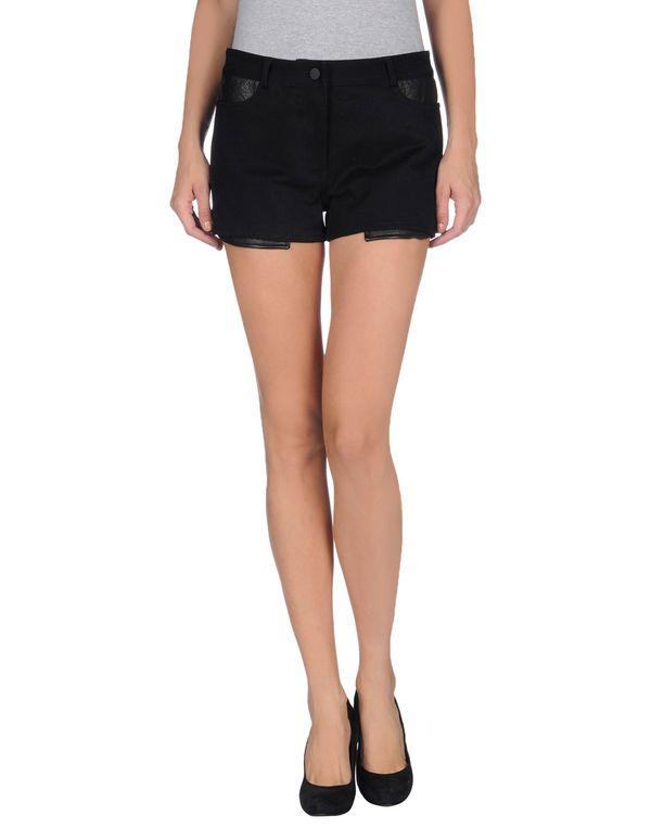 黑色 T BY ALEXANDER WANG 短裤