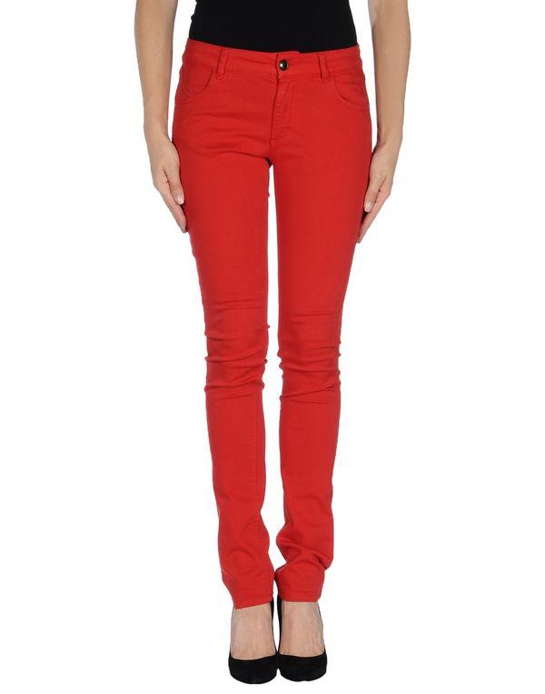 红色 TWIN-SET SIMONA BARBIERI 裤装