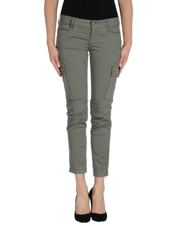 军绿色 LIU •JO 七分裤