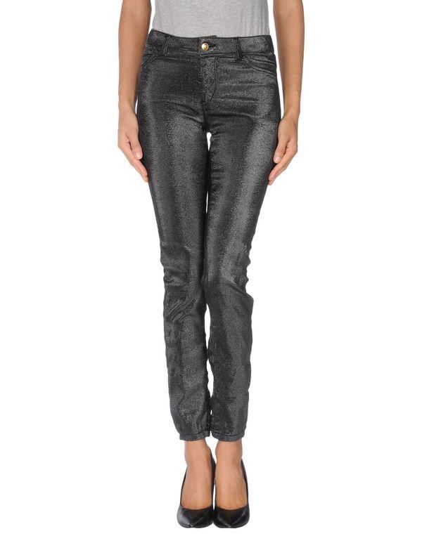 黑色 JUST CAVALLI 牛仔裤