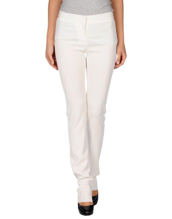 白色 JUST CAVALLI 裤装