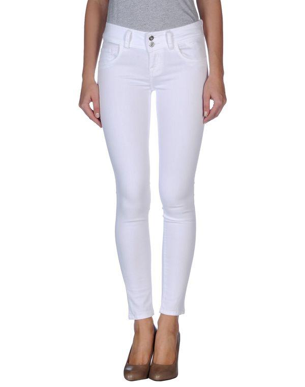 白色 BRIAN DALES 牛仔裤