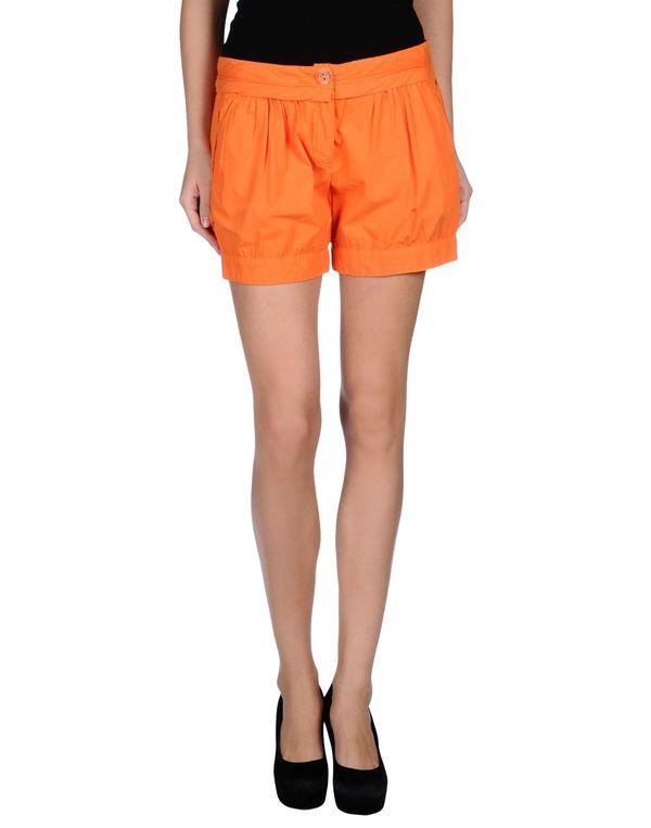 橙色 PINKO BLACK 短裤