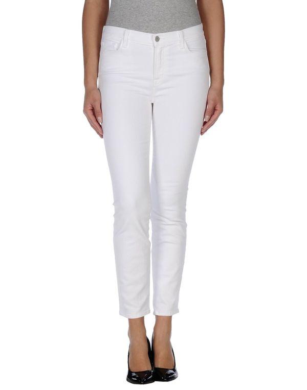 白色 J BRAND 裤装