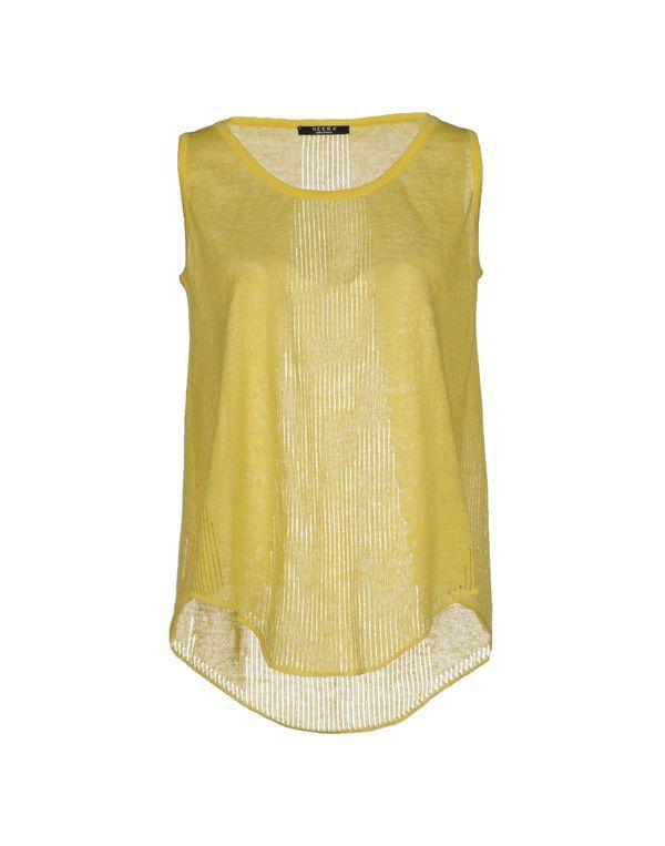 黄色 NEERA 上衣