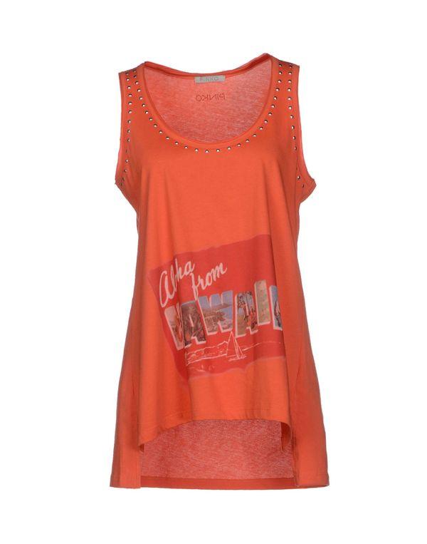 橙色 PINKO GREY 上衣