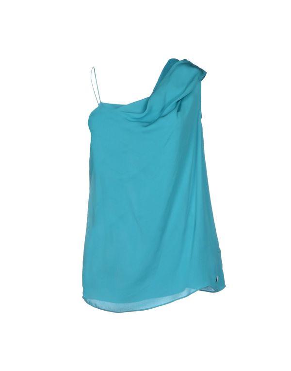 蓝绿色 LIU •JO 上衣