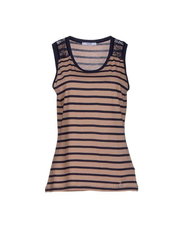 沙色 LIU •JO JEANS T-shirt