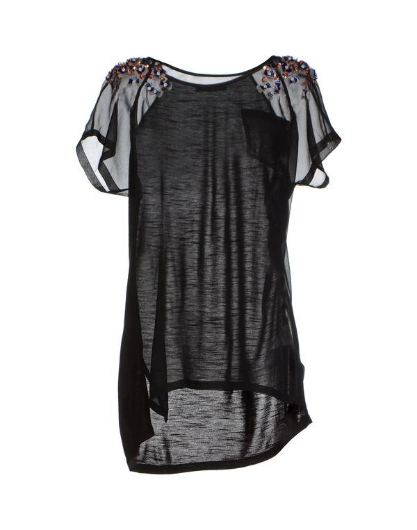 黑色 PINKO BLACK 女士衬衫