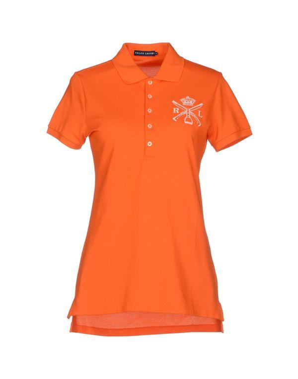 橙色 RALPH LAUREN Polo衫
