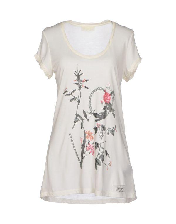 象牙白 GUESS T-shirt