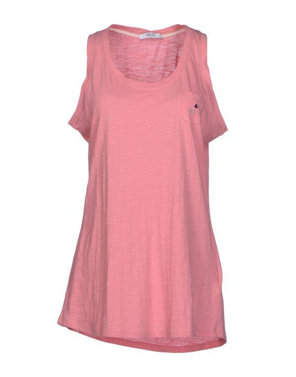 粉红色 LIU •JO JEANS T-shirt