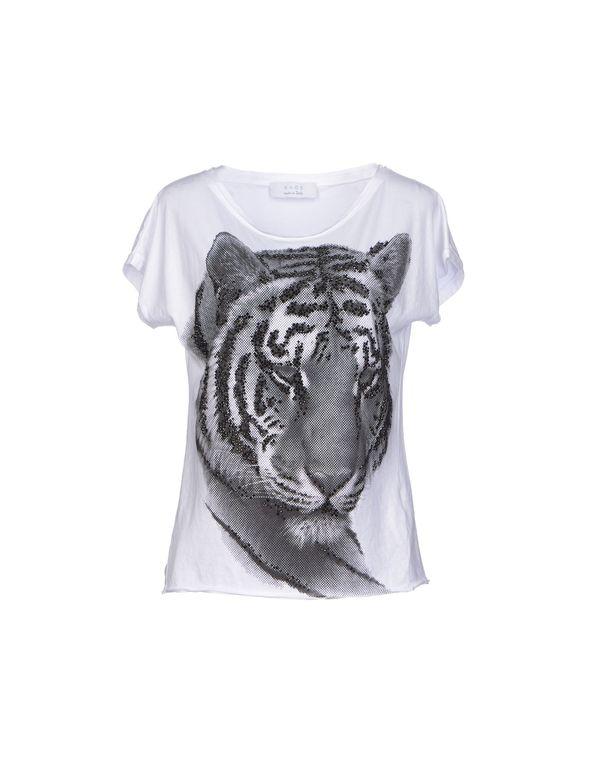 白色 KAOS T-shirt