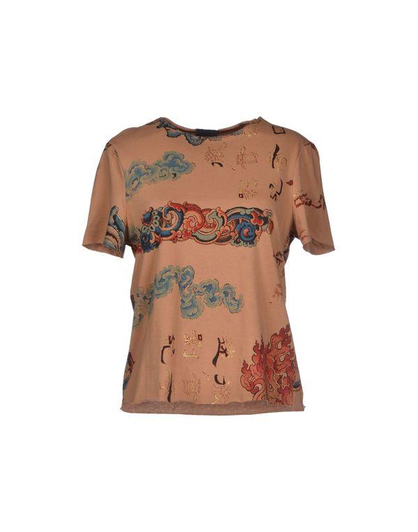 驼色 JUST CAVALLI T-shirt