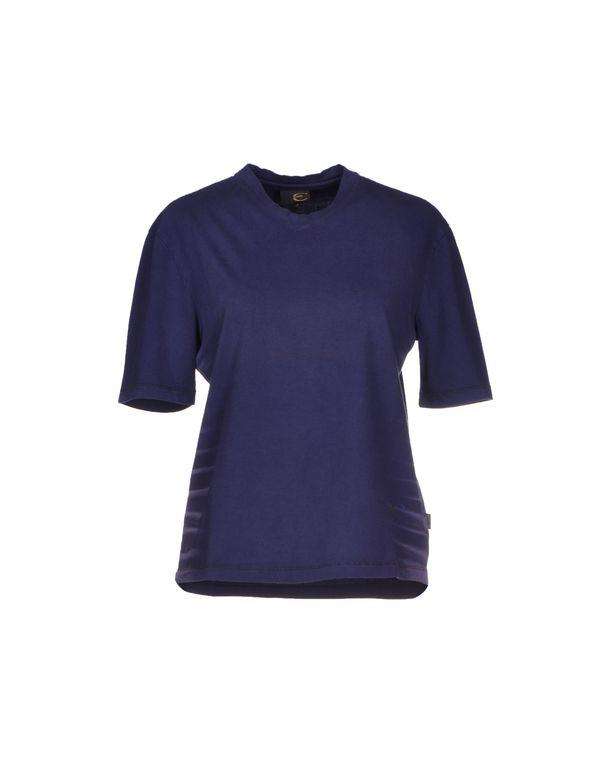 深紫色 JUST CAVALLI T-shirt