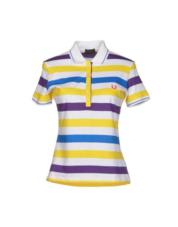 黄色 FRED PERRY Polo衫