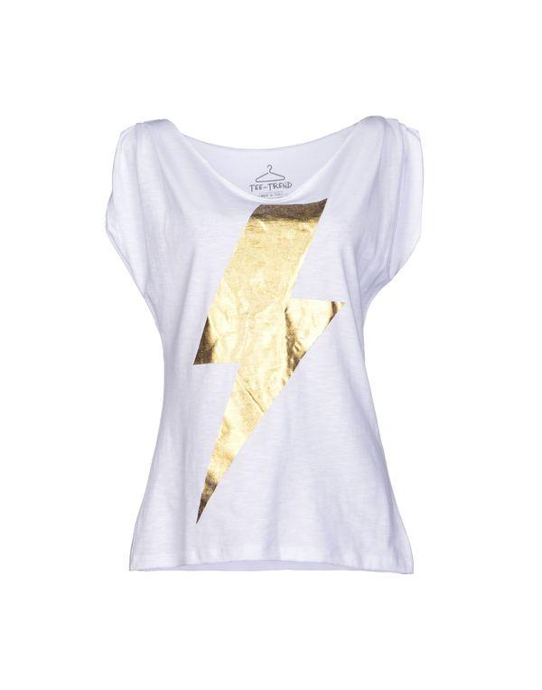白色 TEE TREND T-shirt