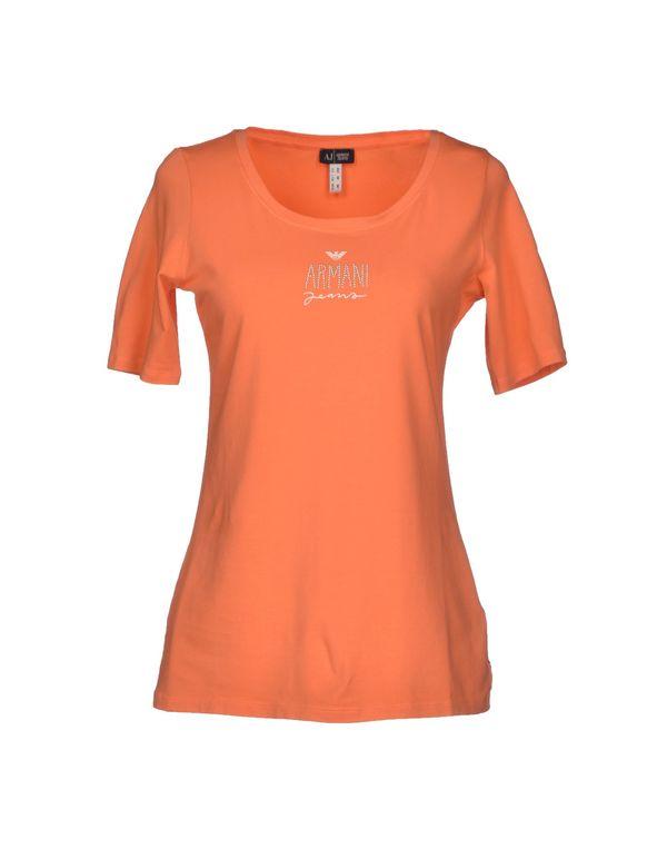 橙色 ARMANI JEANS T-shirt
