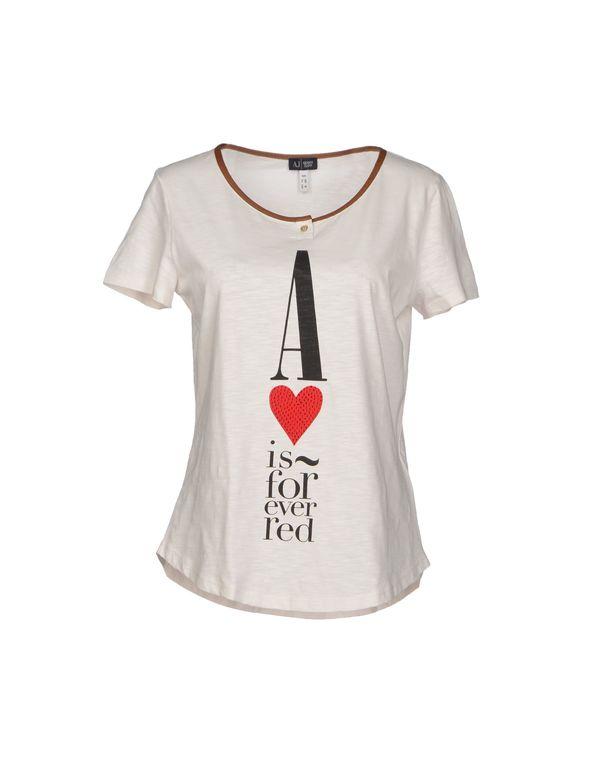 米色 ARMANI JEANS T-shirt