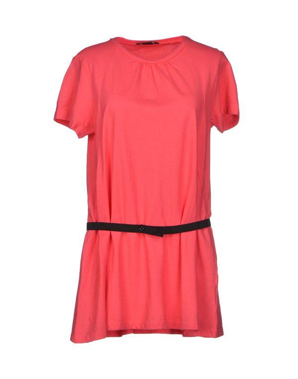 玫红色 D.A. DANIELE ALESSANDRINI T-shirt