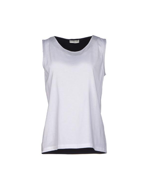 白色 BALENCIAGA T-shirt