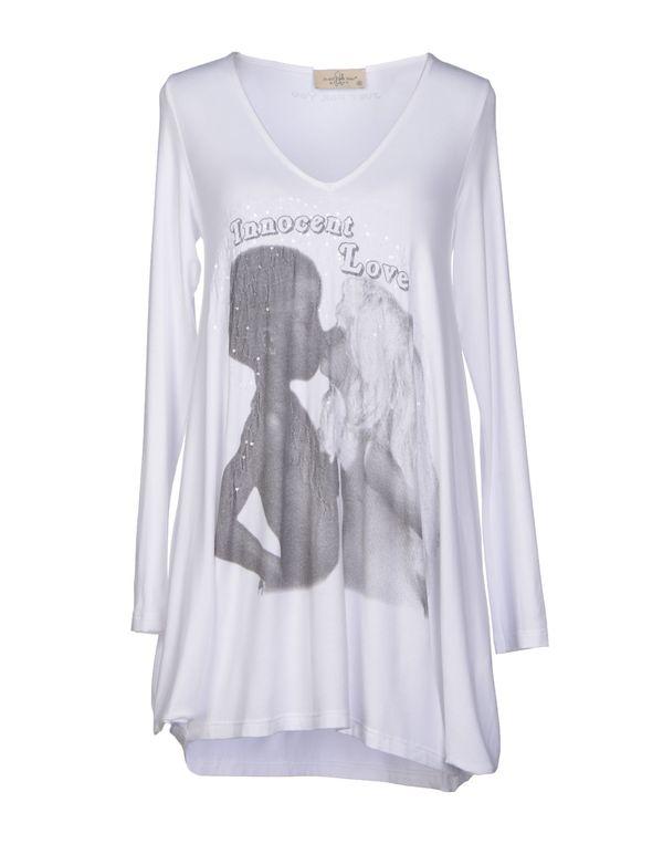 白色 JUST FOR YOU T-shirt