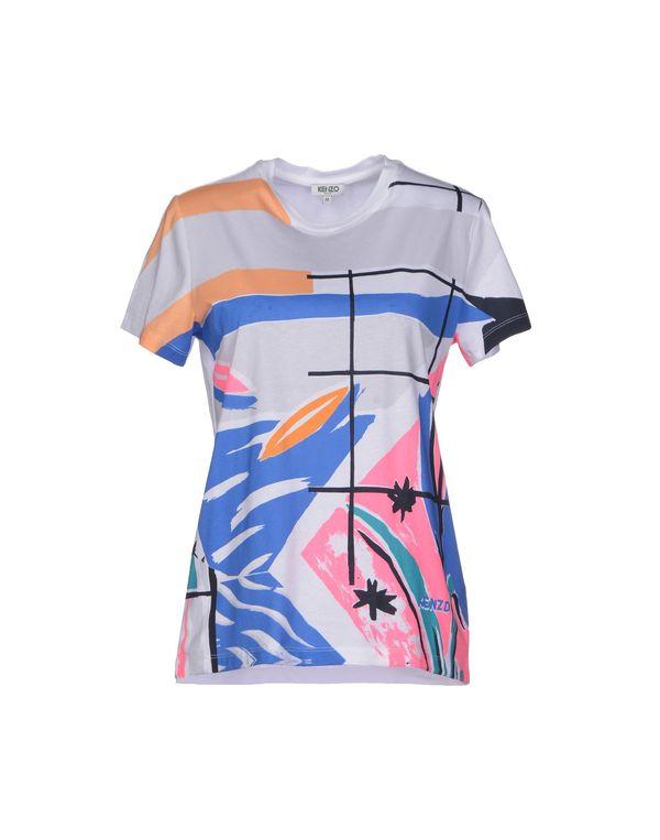 白色 KENZO T-shirt