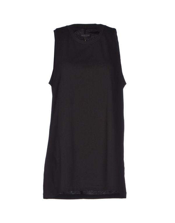 黑色 RAG & BONE T-shirt