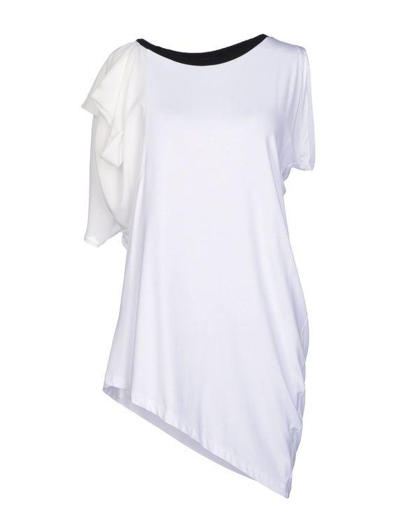 白色 HANITA T-shirt