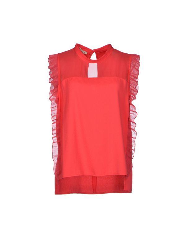 珊瑚红 PINKO Shirt