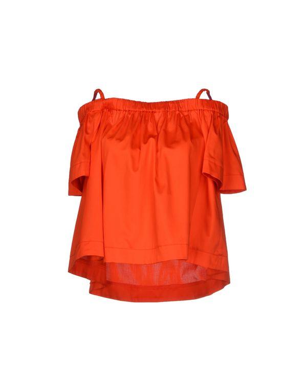 橙色 TARA JARMON 女士衬衫