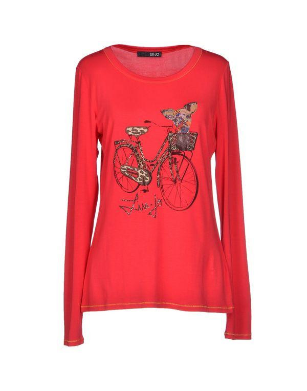红色 LIU •JO T-shirt