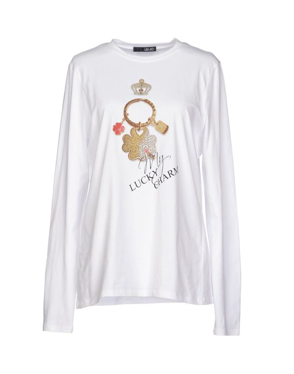 白色 LIU •JO T-shirt