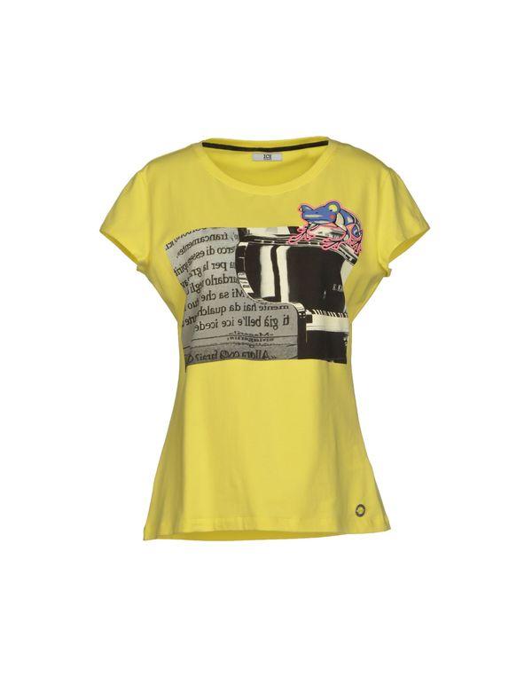黄色 ICE ICEBERG T-shirt