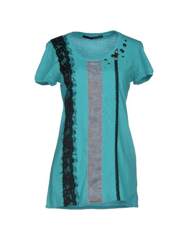 蓝绿色 ANNARITA N. T-shirt