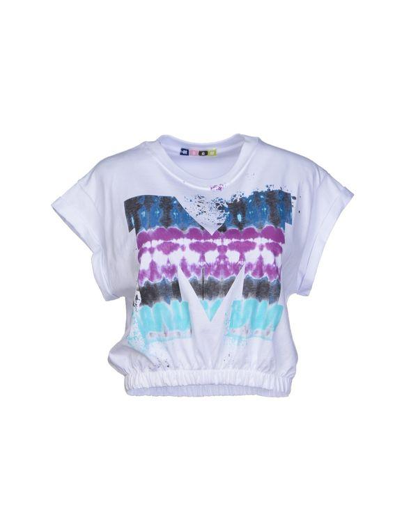 白色 MSGM T-shirt