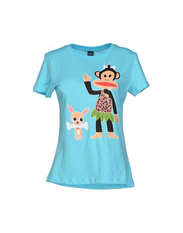 蓝绿色 PAUL FRANK T-shirt