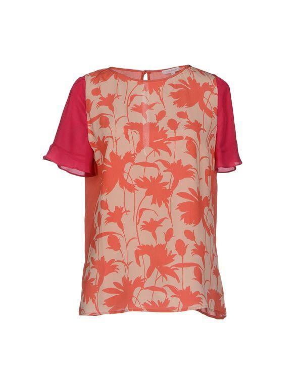 珊瑚红 PATRIZIA PEPE 女士衬衫