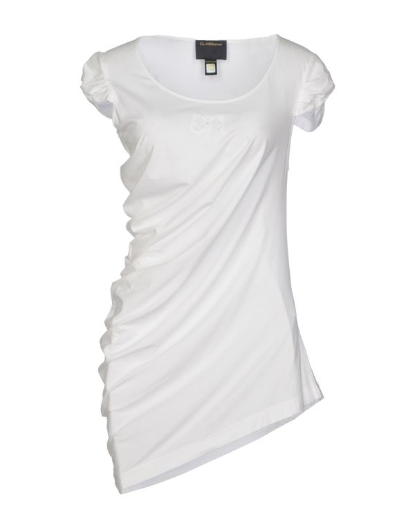 白色 CLASS ROBERTO CAVALLI T-shirt