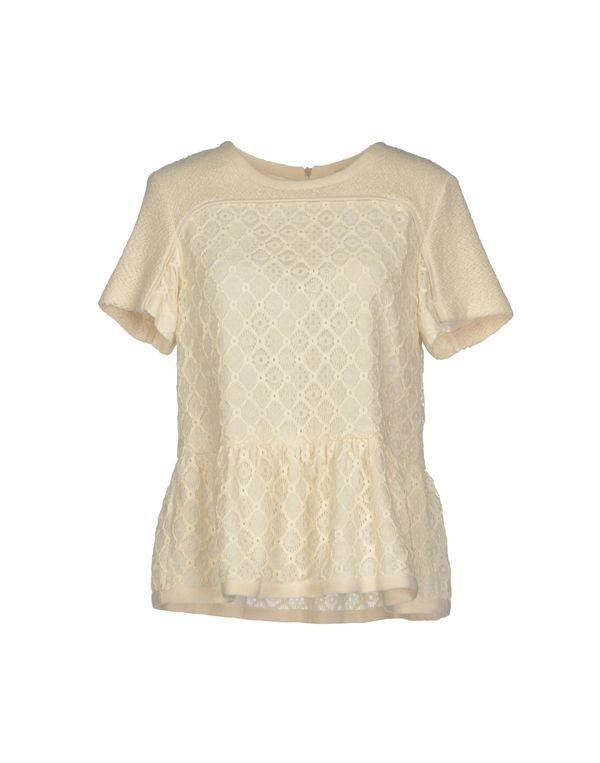 象牙白 SEA 女士衬衫