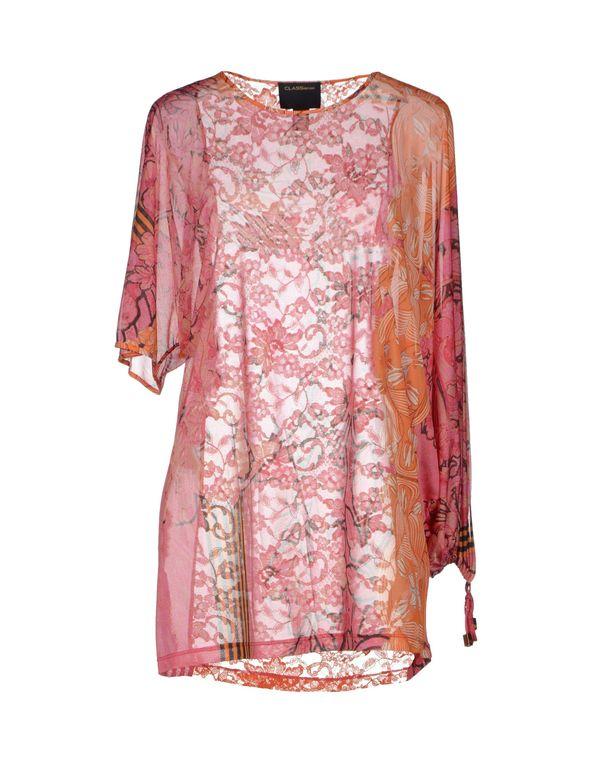 粉红色 CLASS ROBERTO CAVALLI 女士衬衫