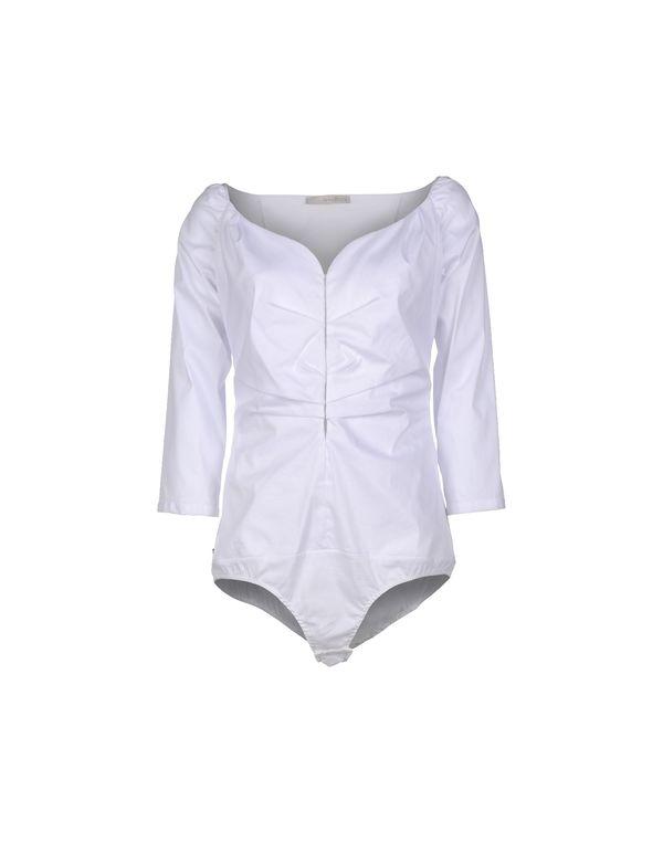 白色 ANNARITA N. Shirt