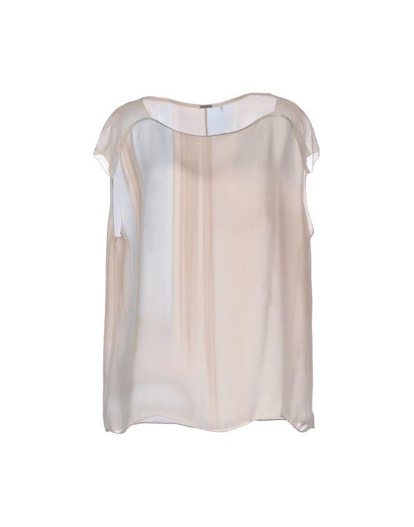 米色 ELIE TAHARI 女士衬衫