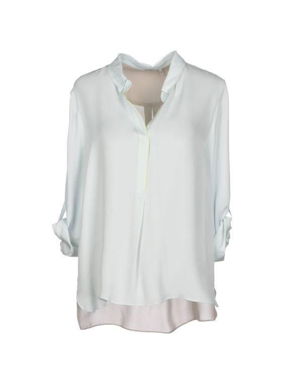 浅绿色 ELIE TAHARI 女士衬衫
