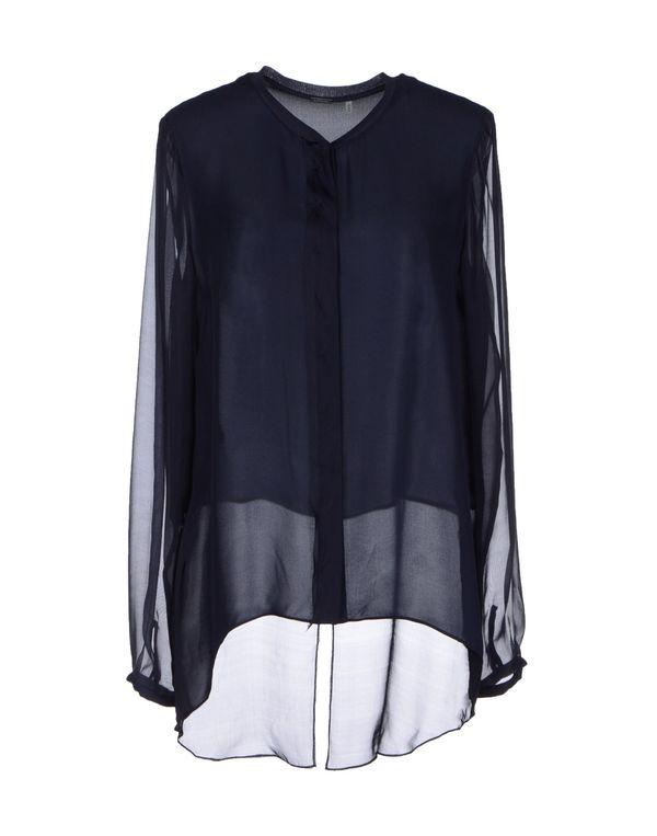 深藏青 ELIE TAHARI Shirt
