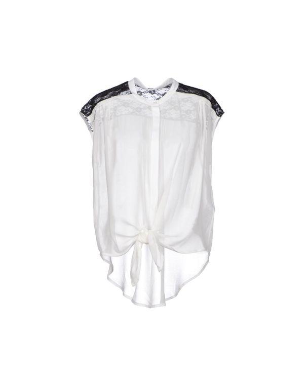 白色 NOSHUA Shirt