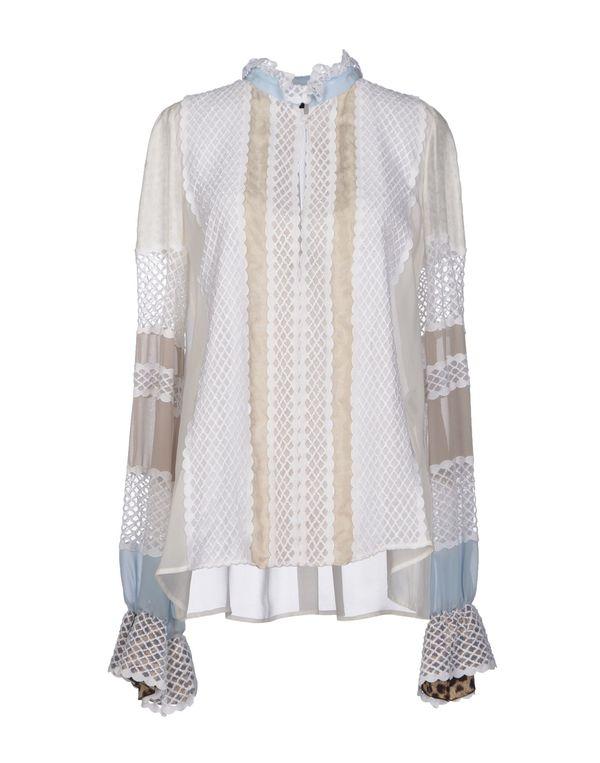 白色 JUST CAVALLI 女士衬衫