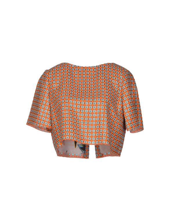橙色 JUST CAVALLI 女士衬衫