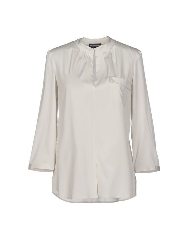 淡灰色 EMPORIO ARMANI 女士衬衫